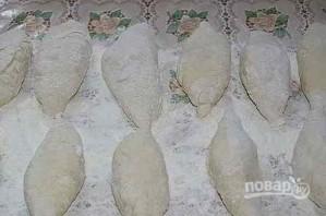 Пирожки с капустой и яйцом жареные - фото шаг 9