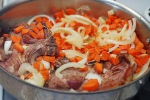 Жаркое из баранины с овощами   - фото шаг 6