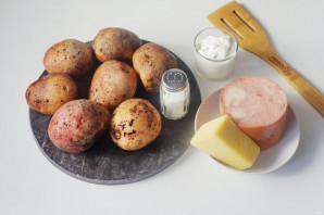 """Крошка-картошка"" в мультиварке - фото шаг 1"