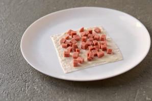 Хрустящая закуска из лаваша - фото шаг 5