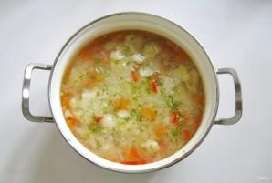 Суп из индейки с цветной капустой - фото шаг 8