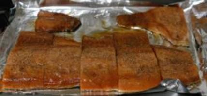Филе лосося на решетке - фото шаг 5