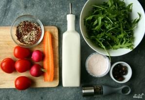 Салат из киноа с овощами - фото шаг 1