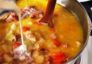 Картофельный суп с ветчиной - фото шаг 5