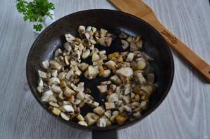 Салат с курицей и шампиньонами - фото шаг 2