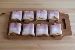 """Горячие бутерброды с беконом и горчицей """"Махеевъ"""" - фото шаг 6"""