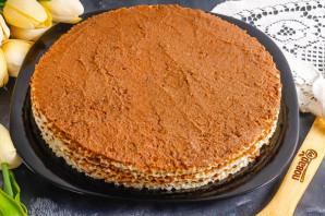 Вафельный торт с медом - фото шаг 6