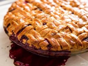 Праздничный пирог с фруктовой начинкой - фото шаг 5