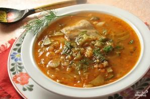 Суп с солеными огурцами - фото шаг 8