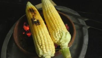 Запеченная кукуруза (на углях) - фото шаг 2