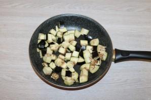 Салат с баклажанами и фасолью - фото шаг 3
