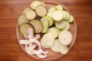 Овощи на сковороде-гриль - фото шаг 2