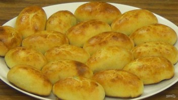 Пирожки из хрущевского теста - фото шаг 6