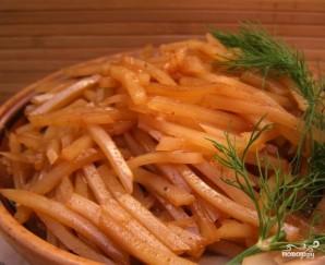 Картошка по-корейски - фото шаг 5