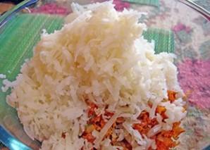 Постные котлеты из риса - фото шаг 4