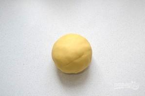 Пирог с сыром и зеленым луком - фото шаг 5