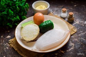 Салат с кальмаром и сельдереем - фото шаг 1