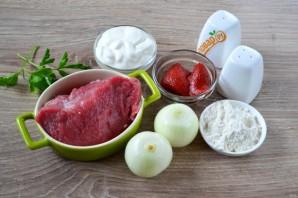 Классический бефстроганов из говядины - фото шаг 1