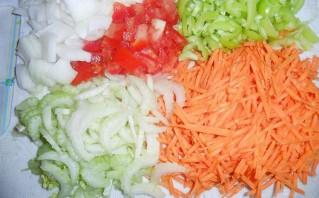 Горбуша в мультиварке с рисом - фото шаг 3