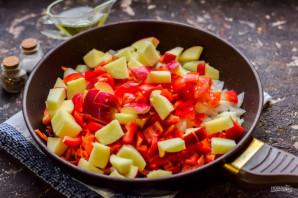 Приправа из овощей на зиму - фото шаг 4