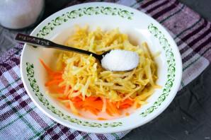 Салат из моркови и яблока со сметаной - фото шаг 4
