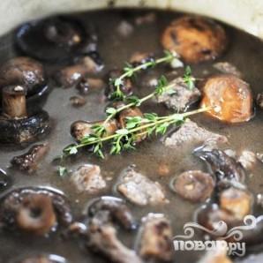Говядина с грибами - фото шаг 18