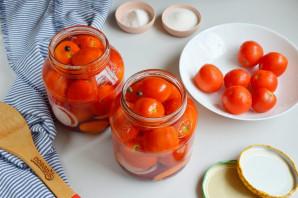Консервированные помидоры со свеклой - фото шаг 5