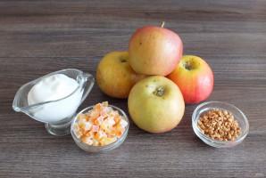 Яблоки запеченные в духовке со сметаной - фото шаг 1
