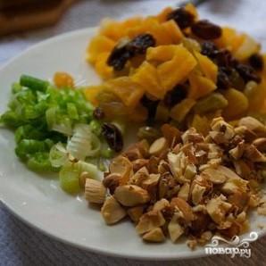 Квиноа с авокадо и сухофруктами - фото шаг 4