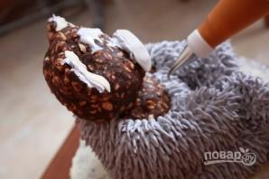 Торт с мишками Тедди - фото шаг 6