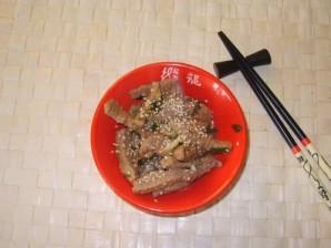 Говядина с кунжутом - фото шаг 6