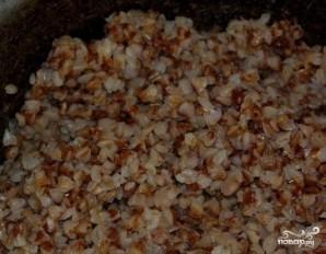 Гречка с грибами и сметаной - фото шаг 1