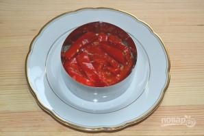 Салат с консервированным перцем - фото шаг 6