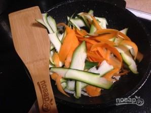 Рис с морковкой, цуккини и апельсином - фото шаг 6