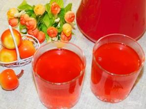 "Напиток ""клюква-апельсин"" - фото шаг 5"