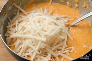 Оладьи из тыквы с сыром - фото шаг 5