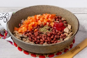 Буррито из индейки на завтрак - фото шаг 3