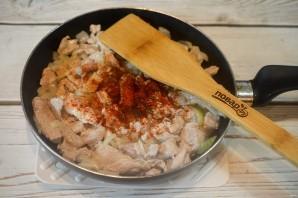 Свинина с овощами по-болгарски - фото шаг 4