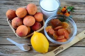 Варенье из абрикосов с курагой - фото шаг 1