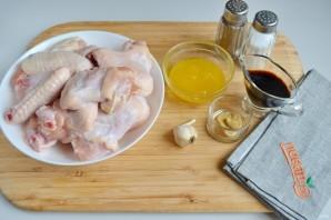 Куриные крылышки в медово-чесночном маринаде - фото шаг 1