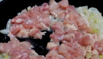 Паста с курицей в томатном соусе - фото шаг 3