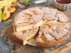 Бисквит с персиком - фото шаг 7