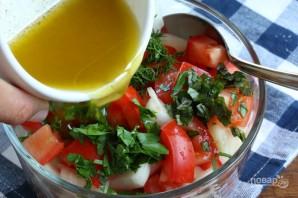 Обычный салат - фото шаг 4