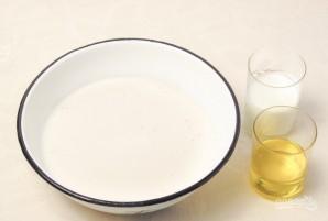 Пирог на кефире со сливами - фото шаг 2
