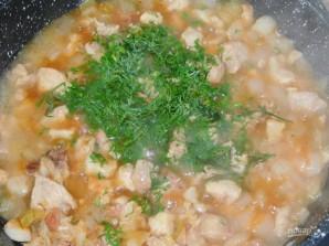 Свинина, тушенная в луковом соусе - фото шаг 4