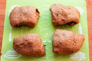 Мини-багеты с жареным луком - фото шаг 5
