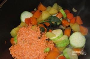 Суп-пюре из тыквы диетический - фото шаг 5