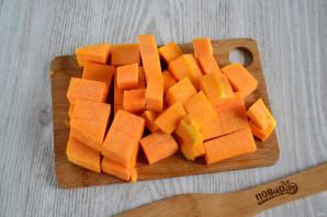 Тыква в сметанном соусе в духовке - фото шаг 2