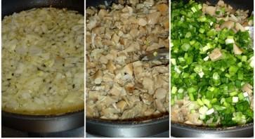 Пирожки с солеными грибами - фото шаг 7