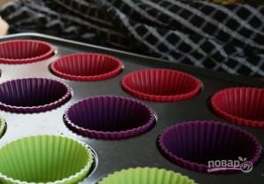Простые кексы в силиконовых формочках - фото шаг 2